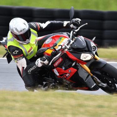 Limit przyczepności opony motocyklowej