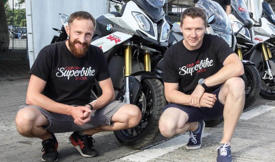 Polscy trenerzy w California Superbike School!